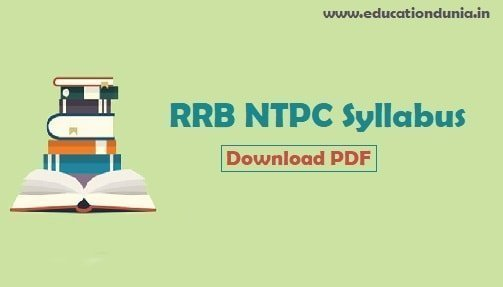 rrb-ntpc-syllabus