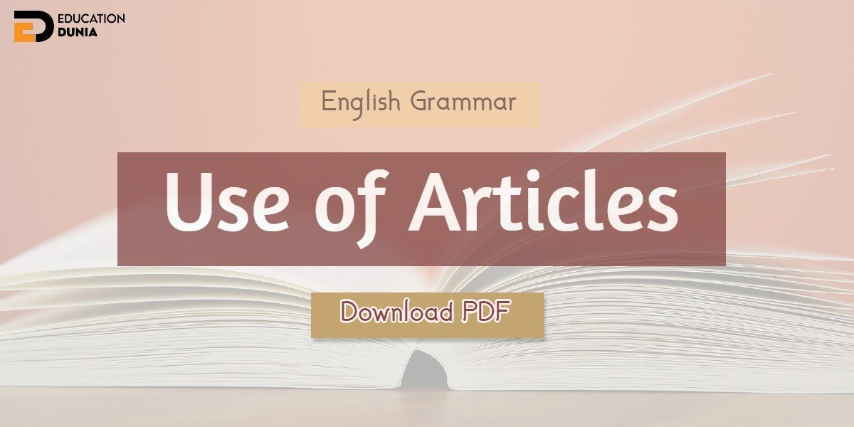 Use of Articles Notes