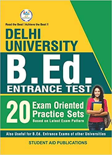 DU Bed Previous year Papers