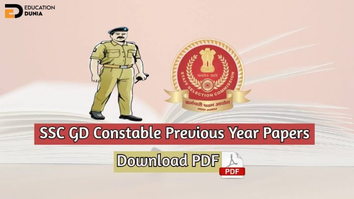 ssc gd previous year papers