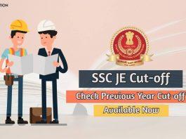 ssc je cut-off