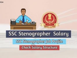 ssc stenographer salary