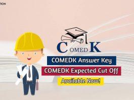 comedk answer key