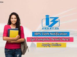 ibps clerk notification