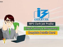 ibps clerk salary