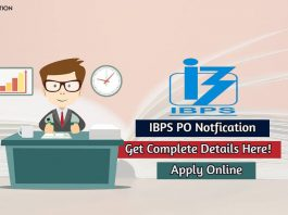 ibps po notification
