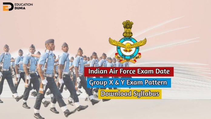 indian air force exam date