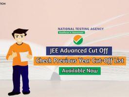 jee advanced cut off