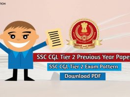 SSC CGL Tier 2 Previous Year Paper