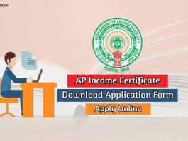 ap income certificate