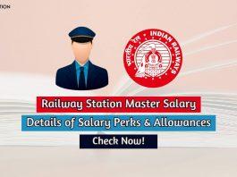 railway station master salary
