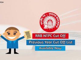 rrb ntpc cut off