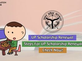 up scholarship renewal