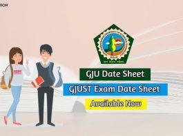 gju date sheet