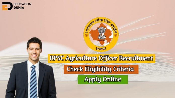 rpsc agriculture officer recruitment