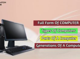 full form of computer